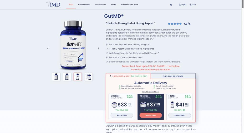 GutMD Website