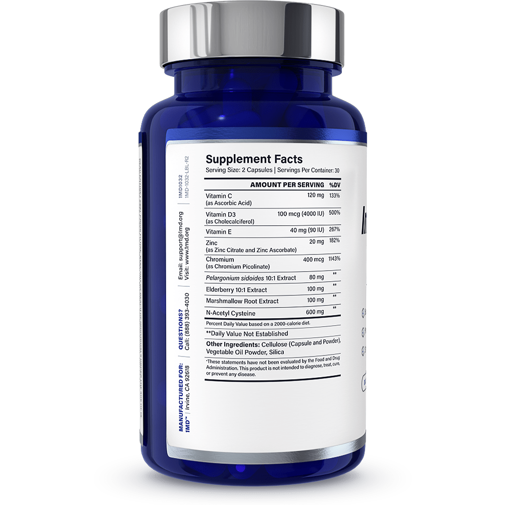 ImmunityMD Ingredients