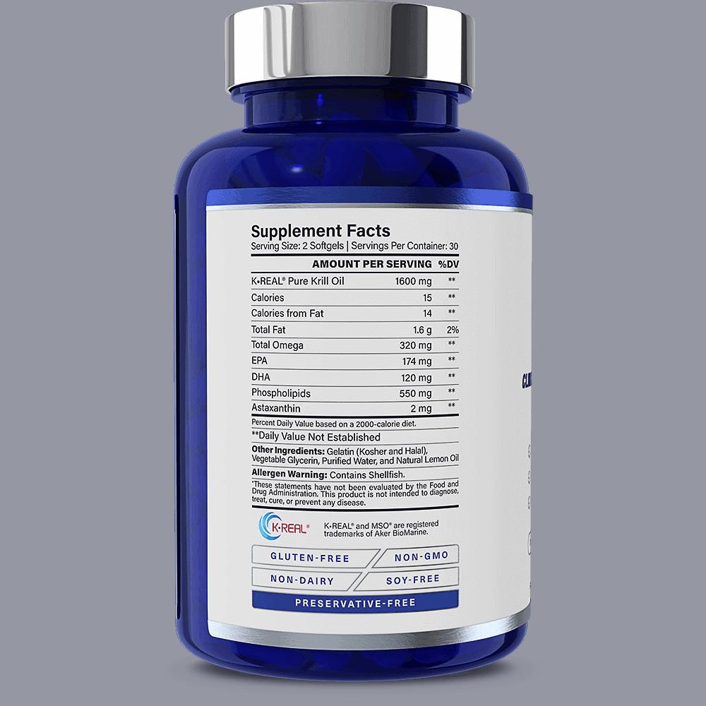 KrillMD Supplement Facts