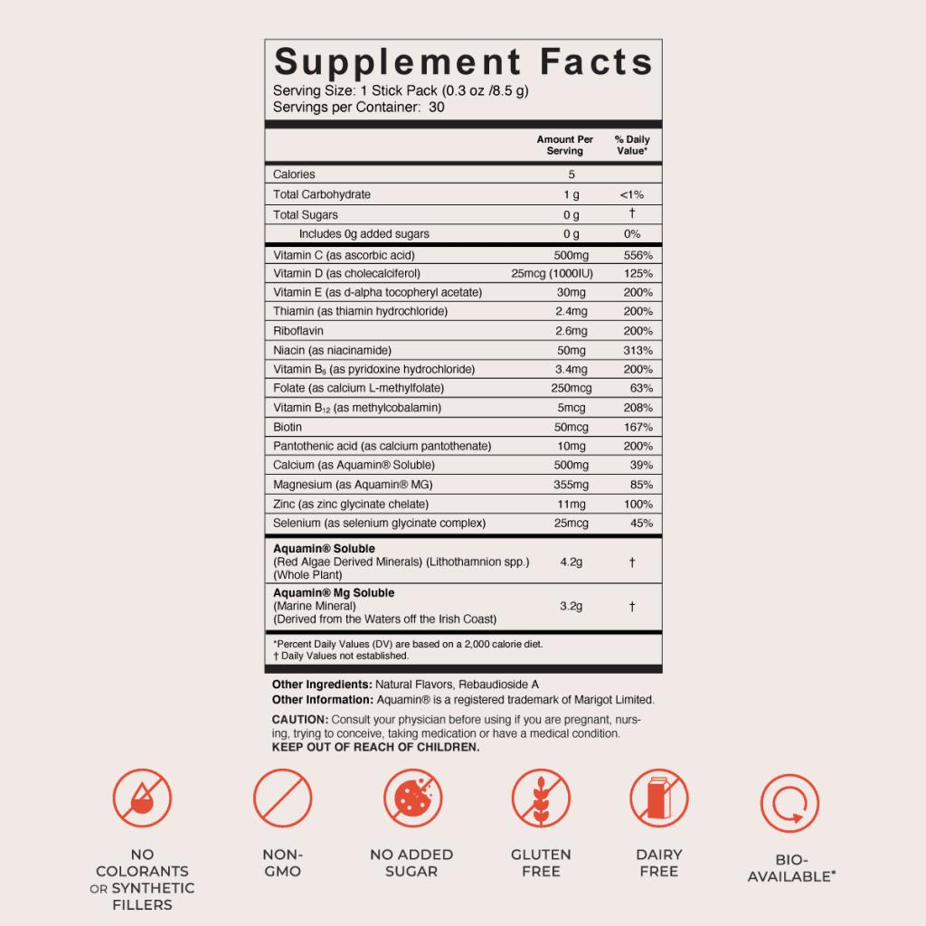 Marea PMS Elixir Ingredients