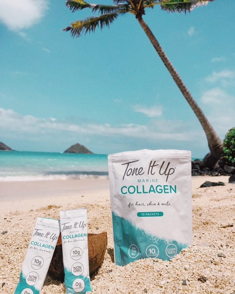 Tone It Up Marine Collagen Packaging