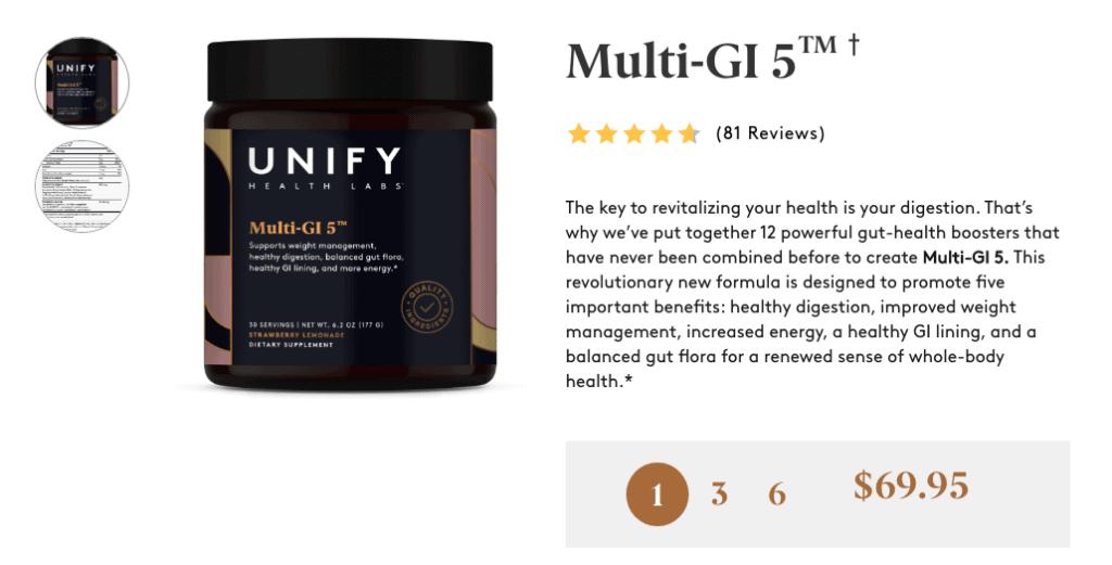Multi-GI 5 Website