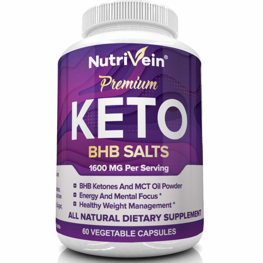 Premium Keto BHB Salts by Nutrivein