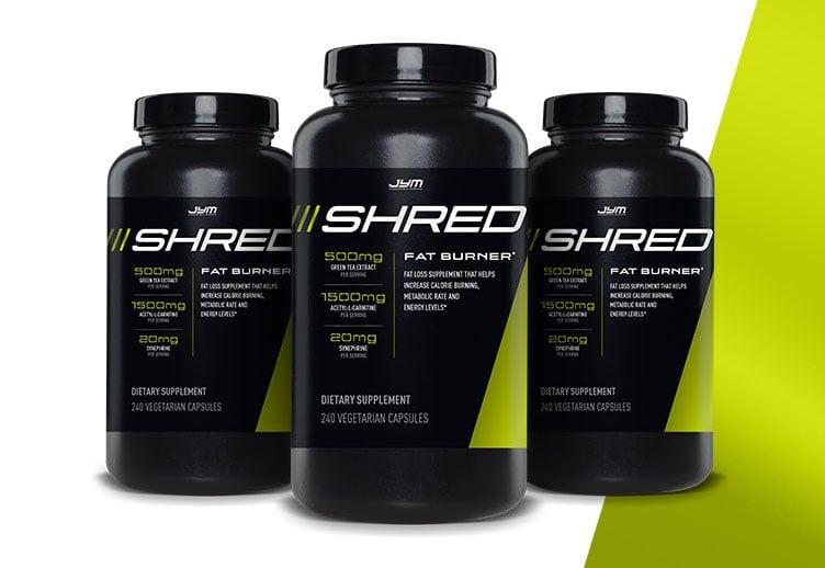 JYM Shred Three Pack