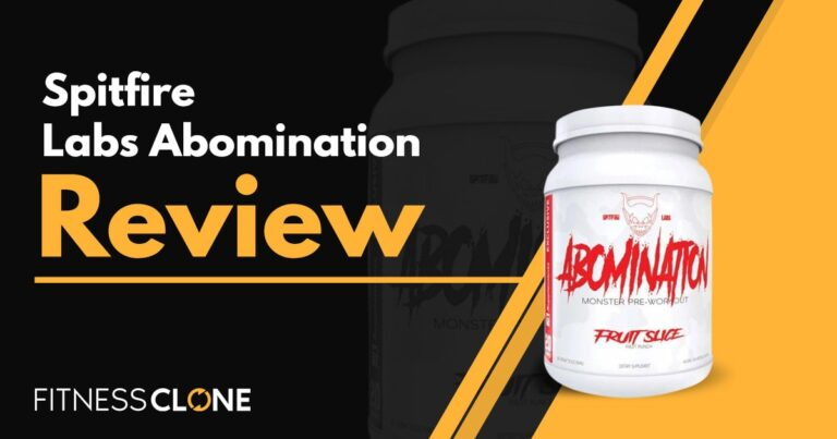 Spitfire Labs Abomination Review – Does This Pre-Workout Really Deliver?