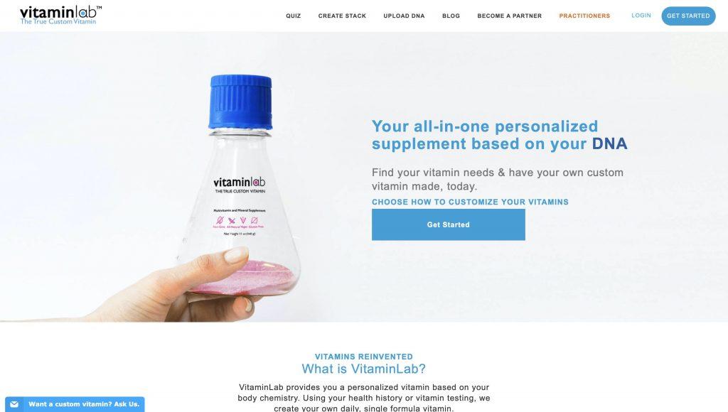 Vitamin lab Website