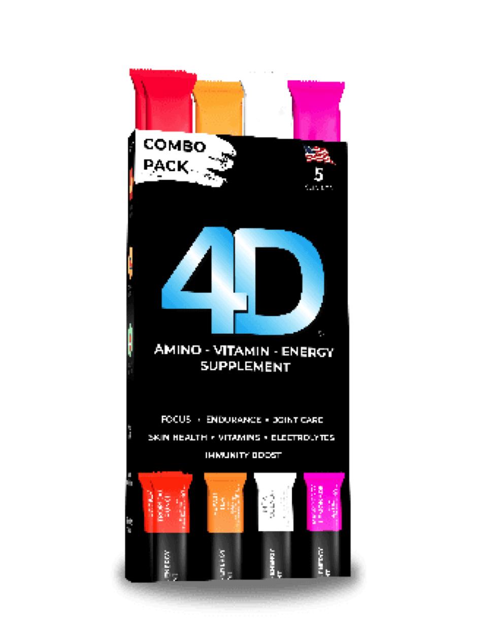 4D Premium Combo Pack