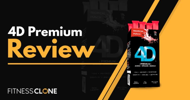 4D Premium Review  – Will This Supplement Up Your Energy Levels?