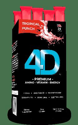4D Premium Tropical Punch