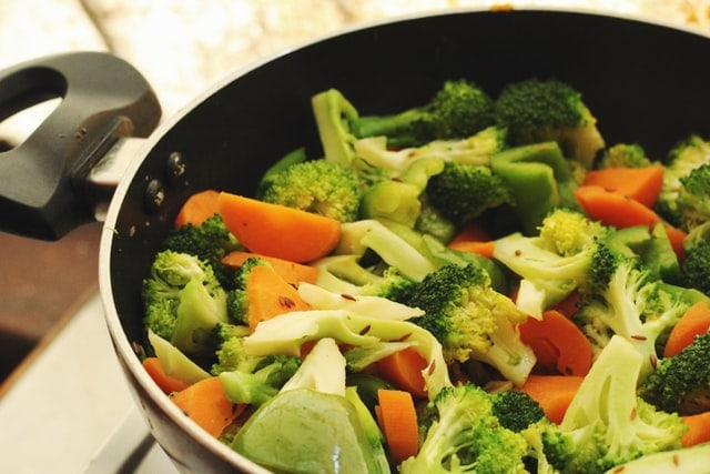 After Fasting Eat Cooked Vegetables