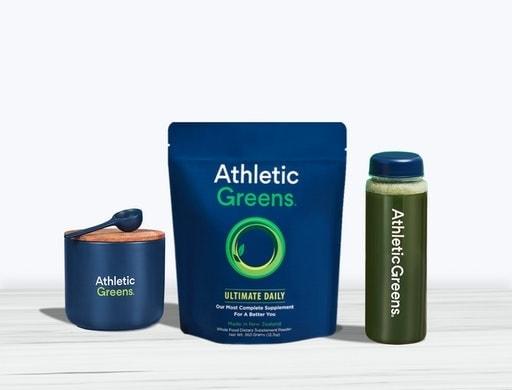 Athletic Greens Powder Drink