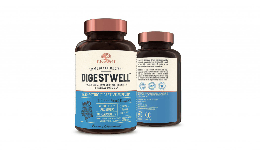 DigestWell Digestive Support Supplement