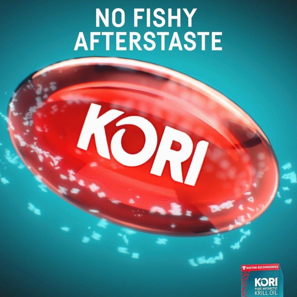 Kori Krill Oil Gel Supplement