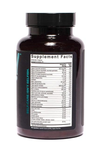 Anser Women's Multivitamin Supplement Facts