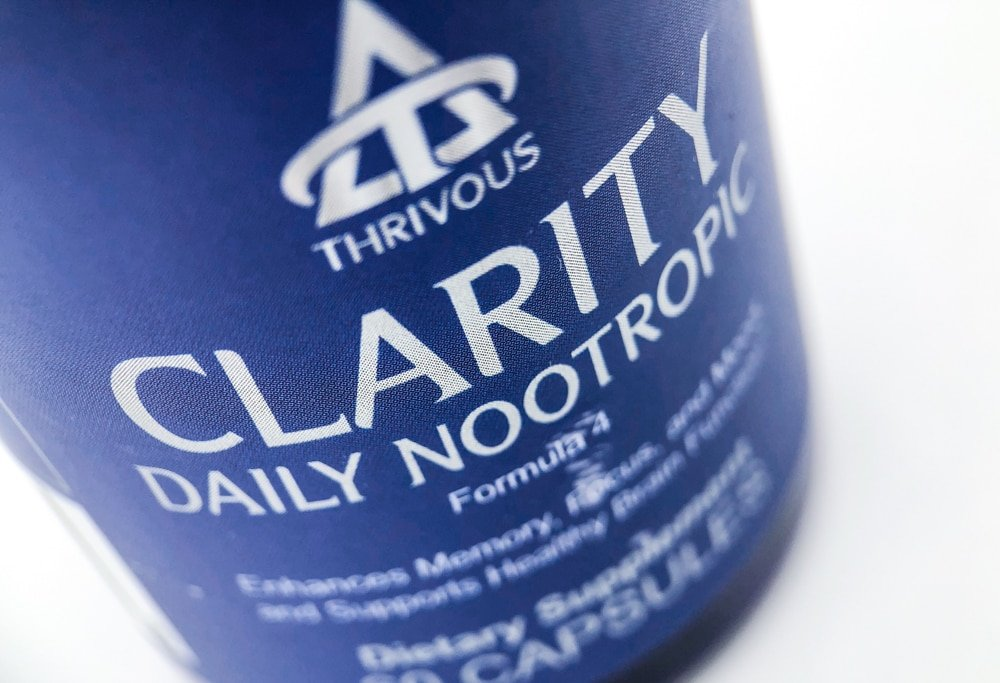 Thrivous Clarity Label