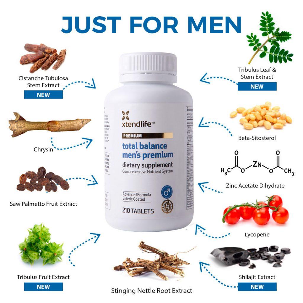 Total Balance Men's Premium Ingredients