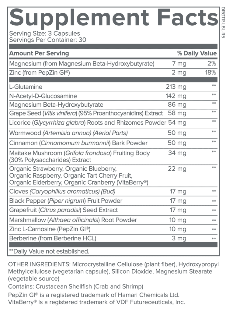 Total Restore-Supplement Facts