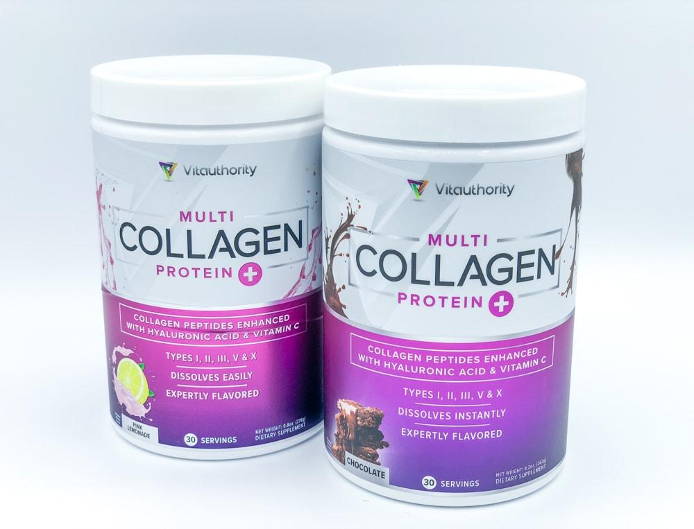 Vitauthority Multi Collagen Flavors