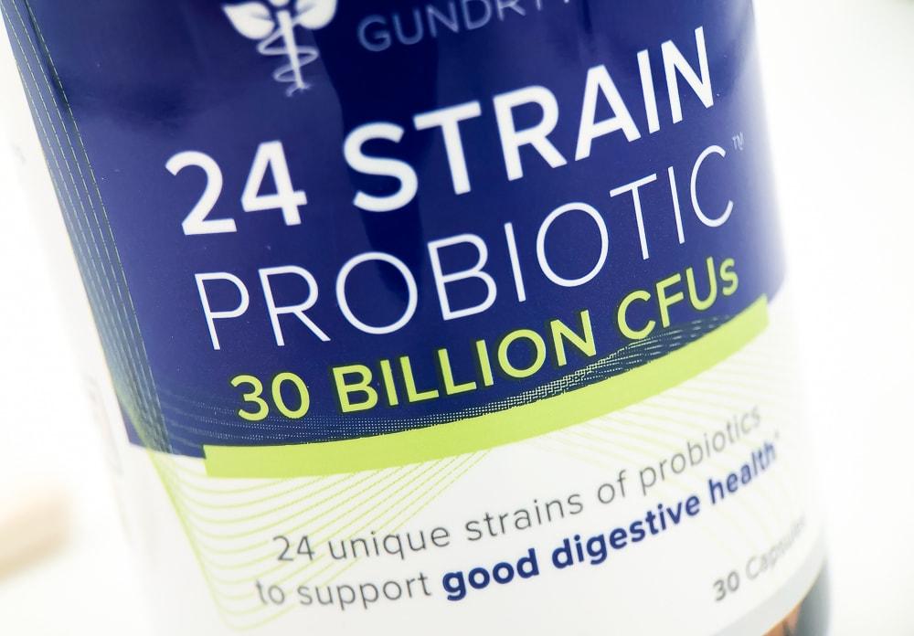 24 Strain Probiotic Label