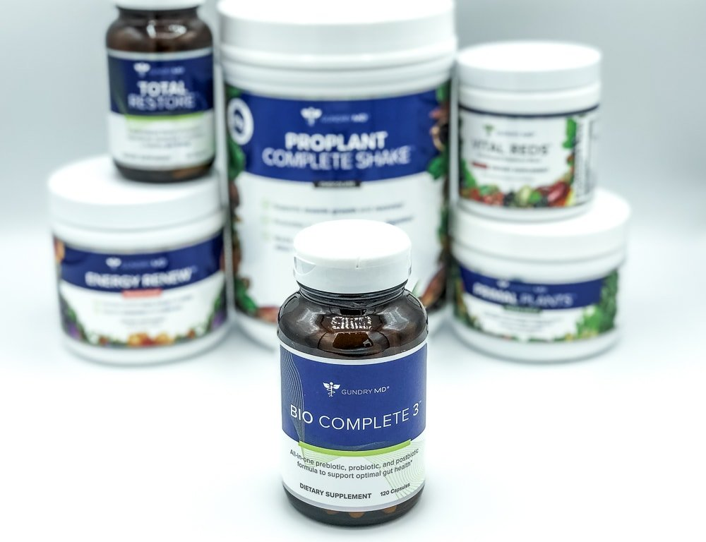 Bio Complete 3 And Gundry MD Supplements