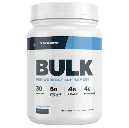 Transparent Labs Bulk Pre-Workout