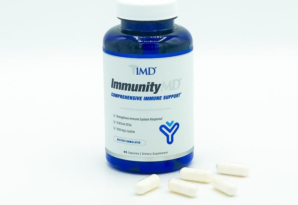 ImmunityMD Bottle And Pills