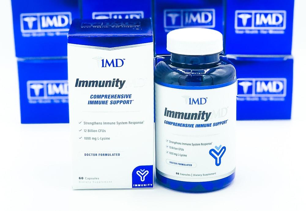 ImmunityMD Box And Bottle
