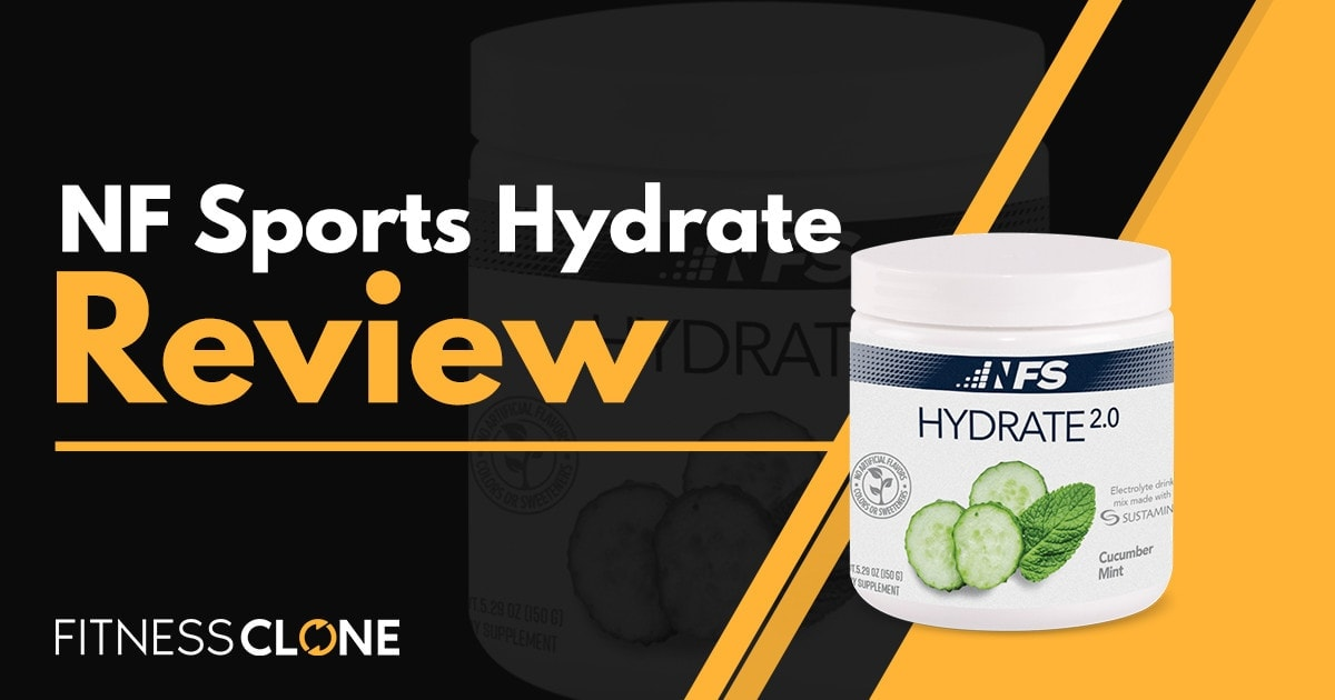NF Sports Hydrate Review