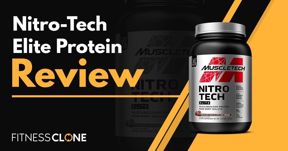Nitro-Tech Elite Protein Review