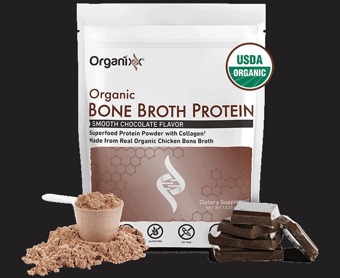 Organixx Organic Bone Broth Protein Powder