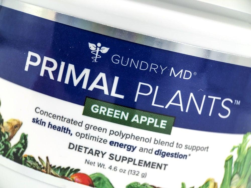 Primal Plants Label