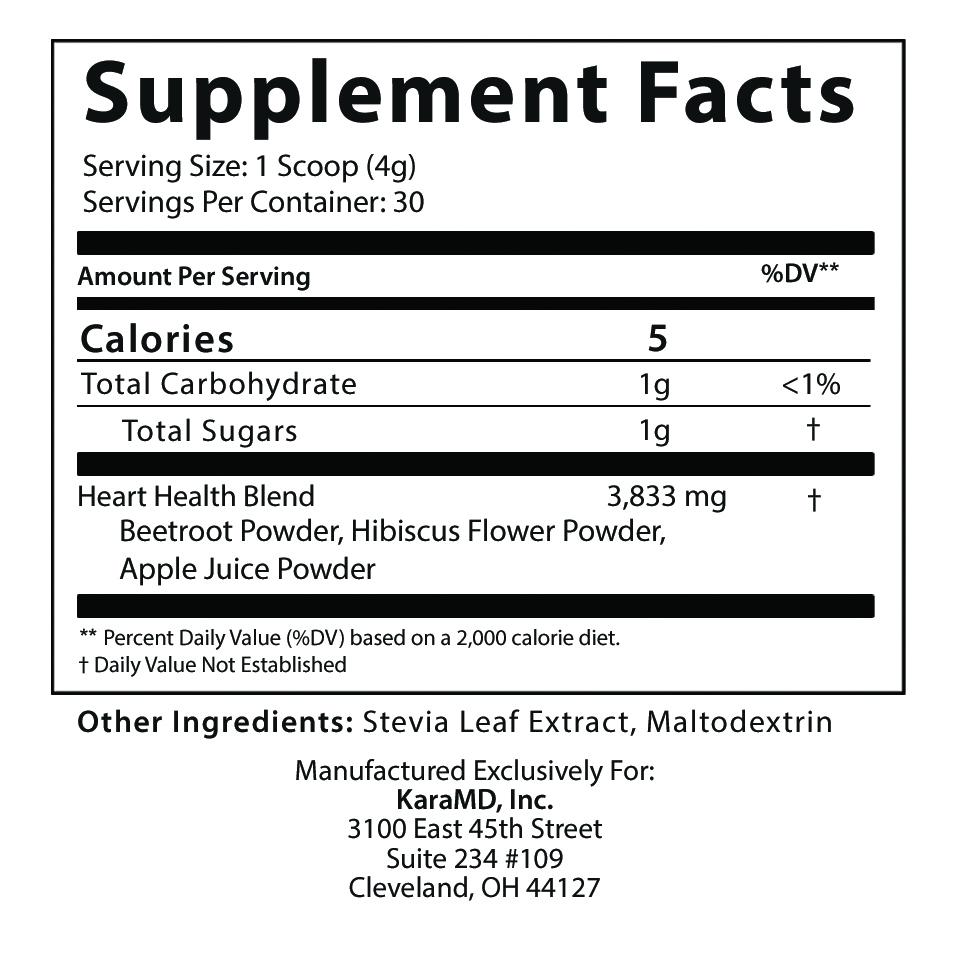 Ultra Beets-Supplement Facts