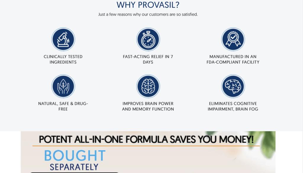 Why Provasil