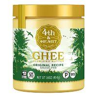 4th & Heart Grass Fed Ghee Clarified Butter