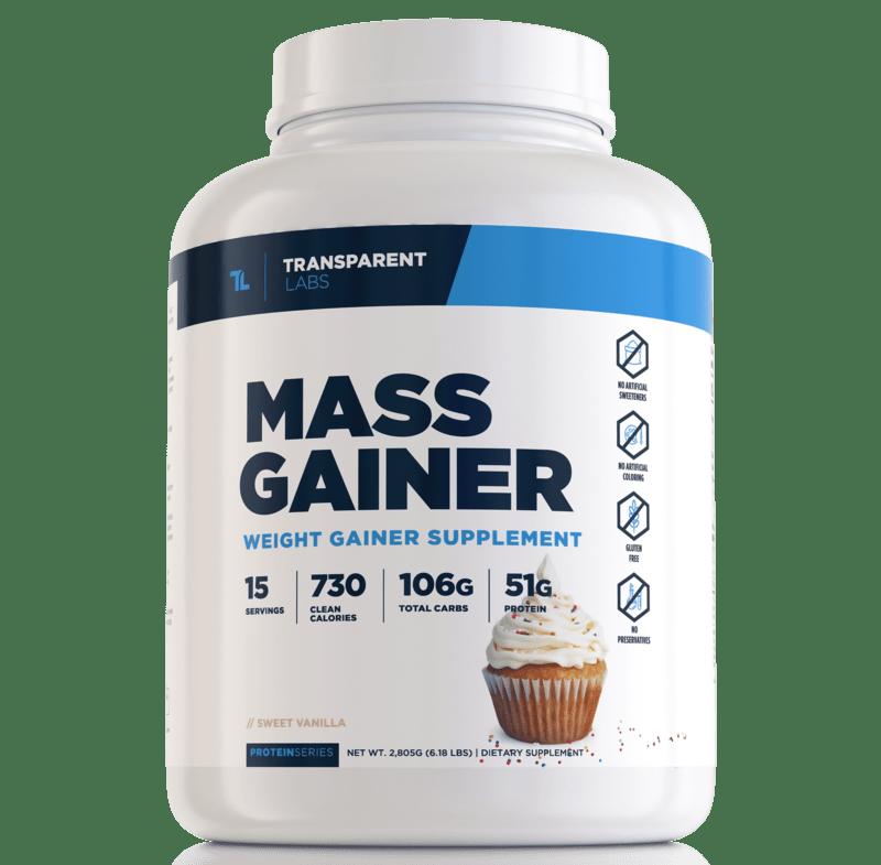 Alternative to Total Mass Matrix Supplement-Mass Gainer by Transparent Labs