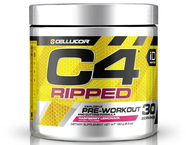 Best Thermogenic Pre-Workout Products-Cellucor C4 Ripped
