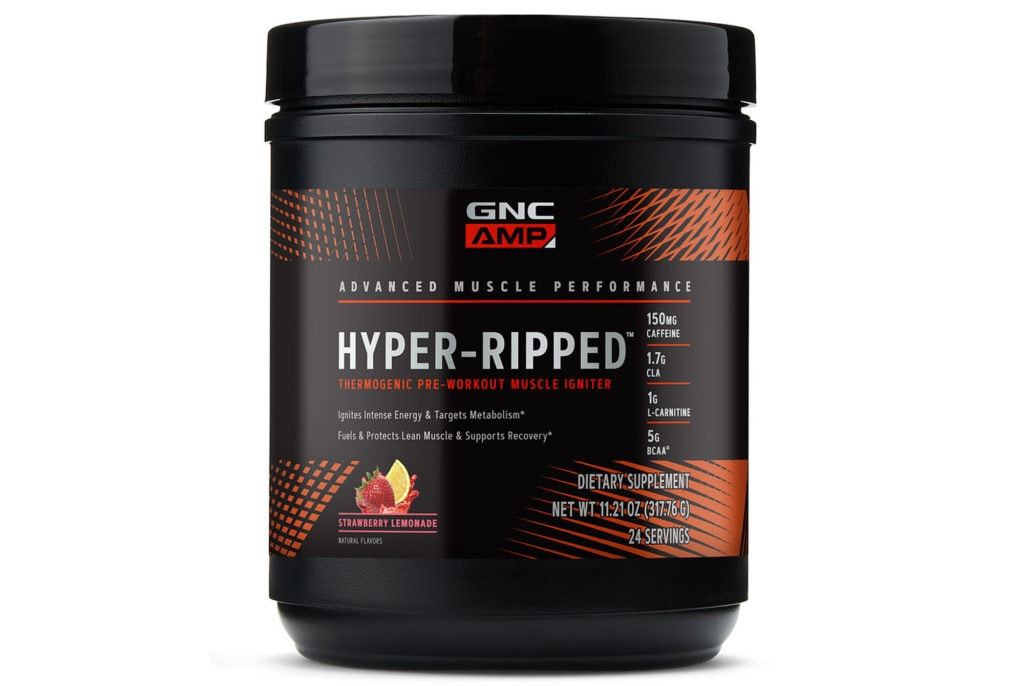 Best Thermogenic Pre-Workout Products-GNC Hyper Ripped