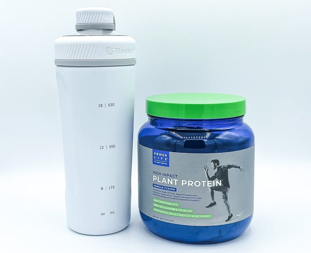 High Impact Plant Protein With Shaker Bottle