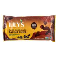 Lily's dark cocoa chips