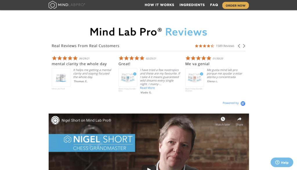 Mind Lab Pro Reviews