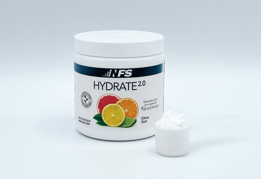 NF Sports Hydrate Bottle And Powder