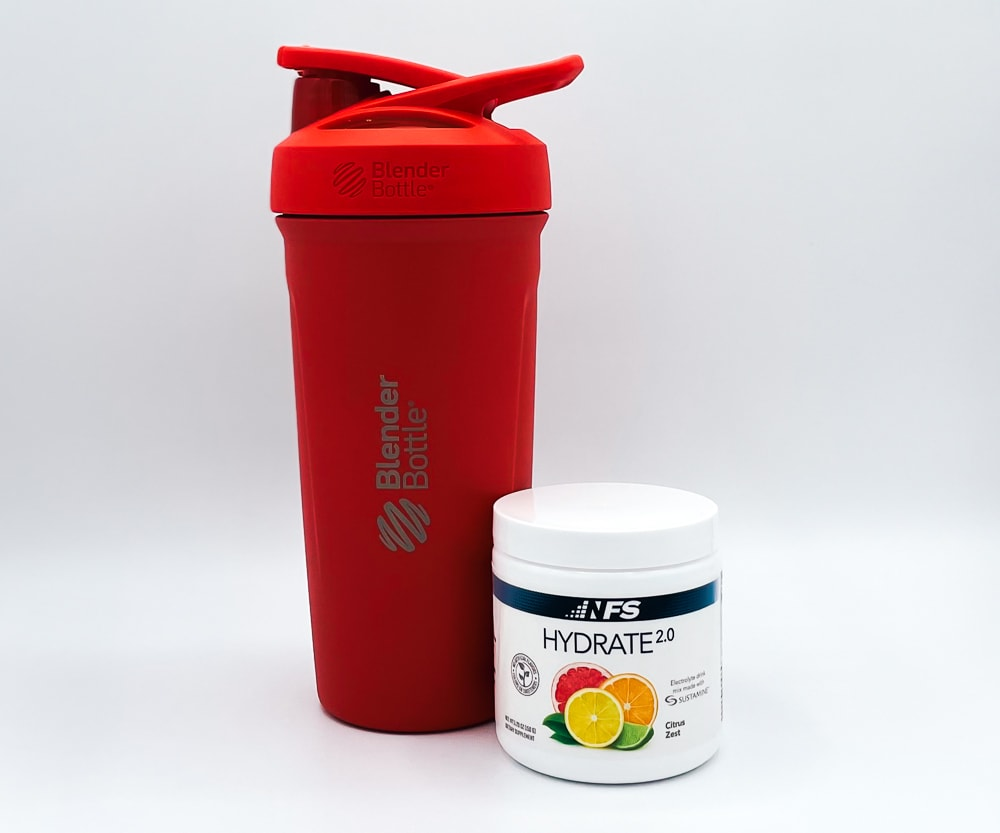 NF Sports Hydrate Supplement And Shaker