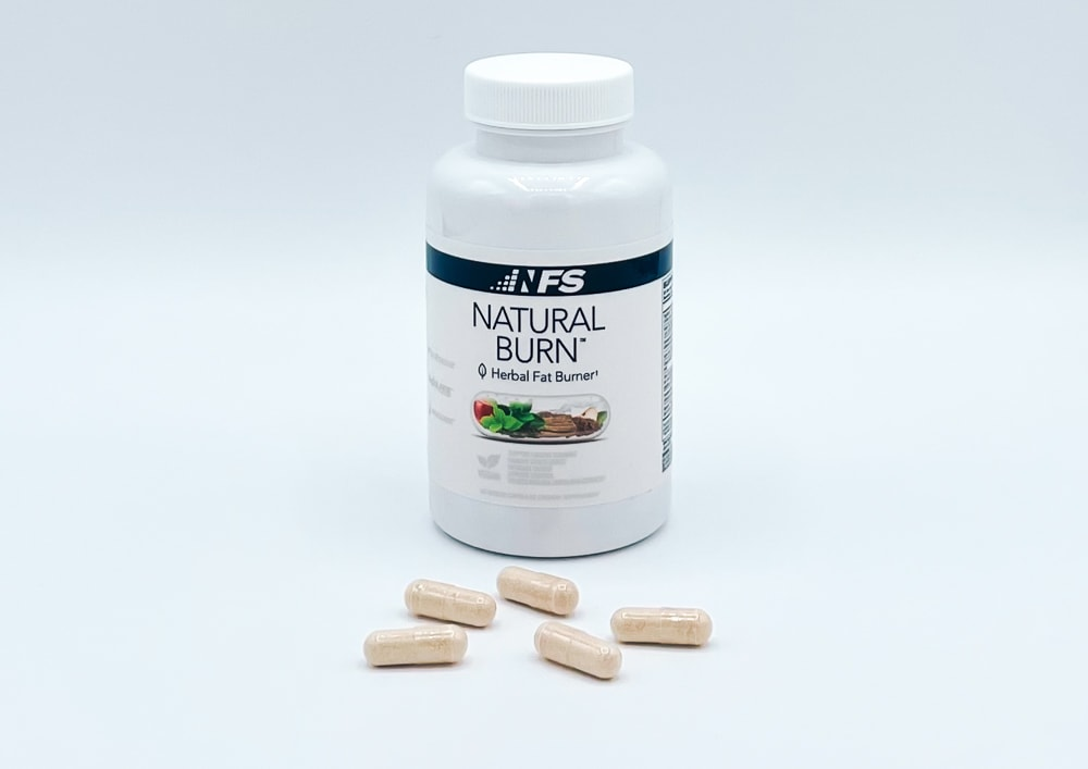 NF Sports Natural Burn Bottle And Pills