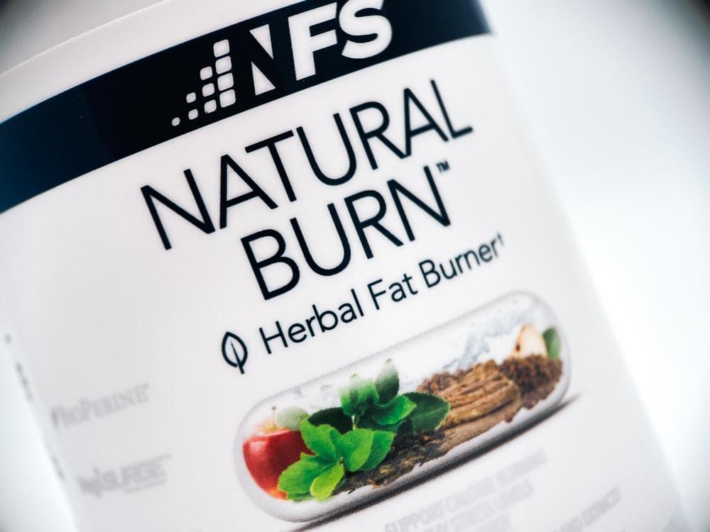 NF Sports Natural Burn Label