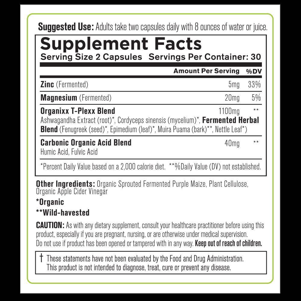 T-Plexx-Supplement Facts