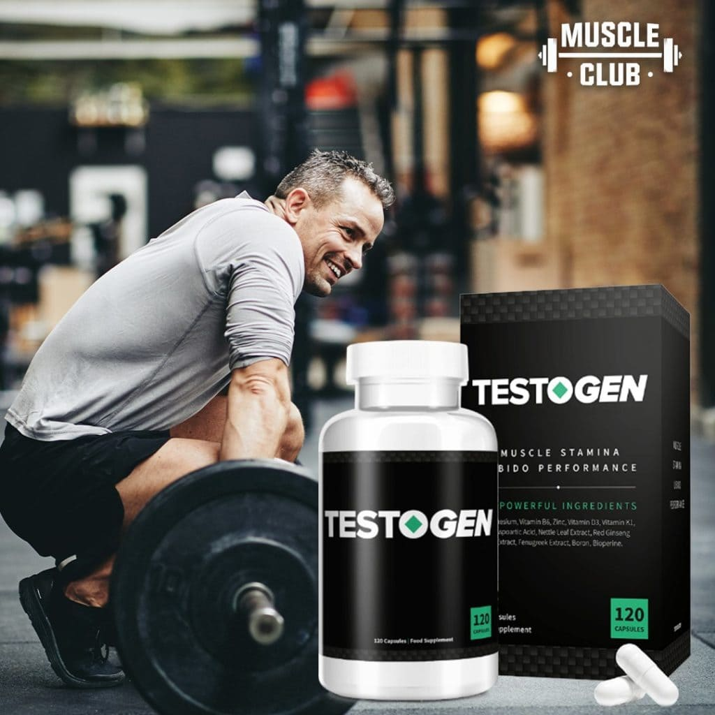 Testogen increased strength and stamina