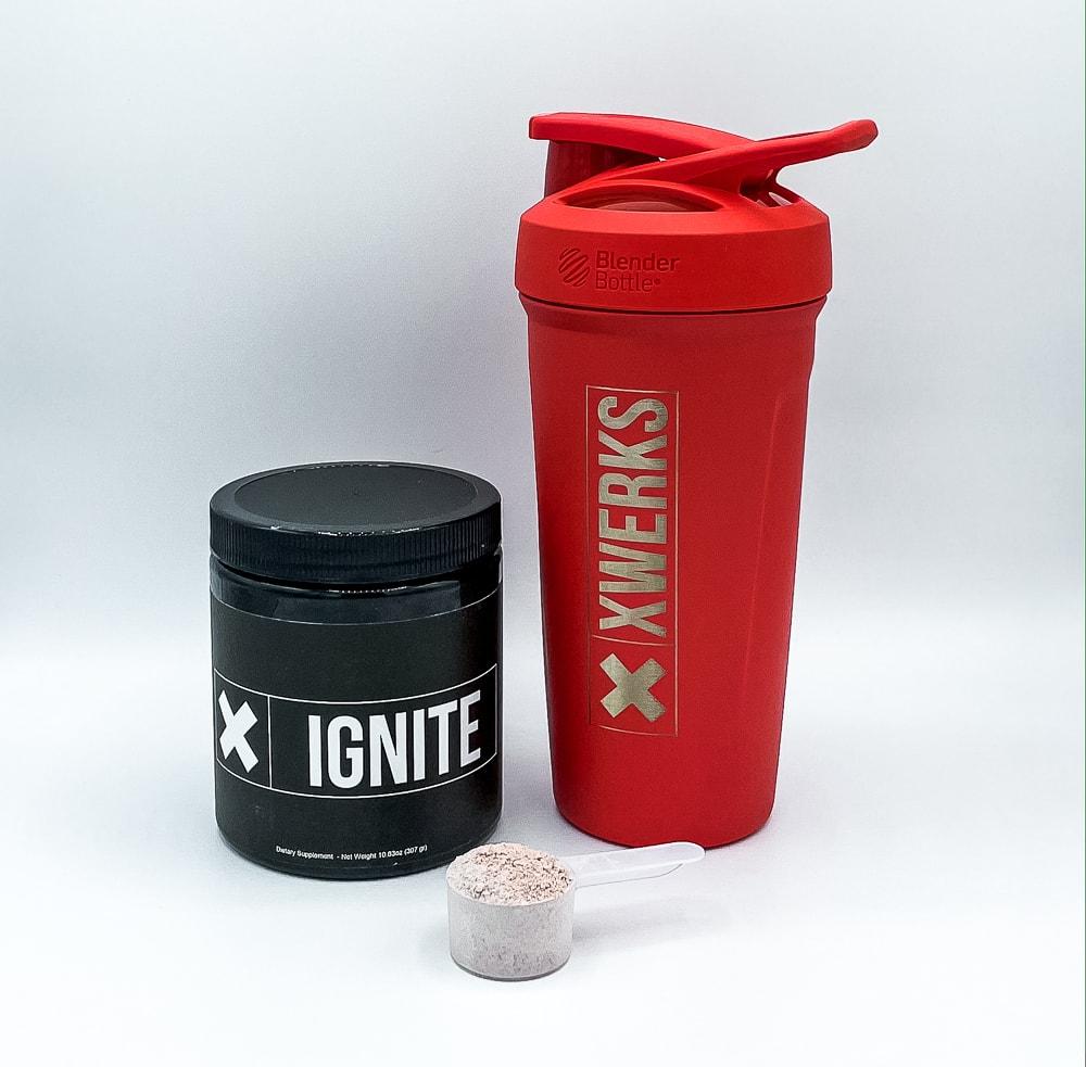 Xwerks Ignite Powder And Shaker Bottle