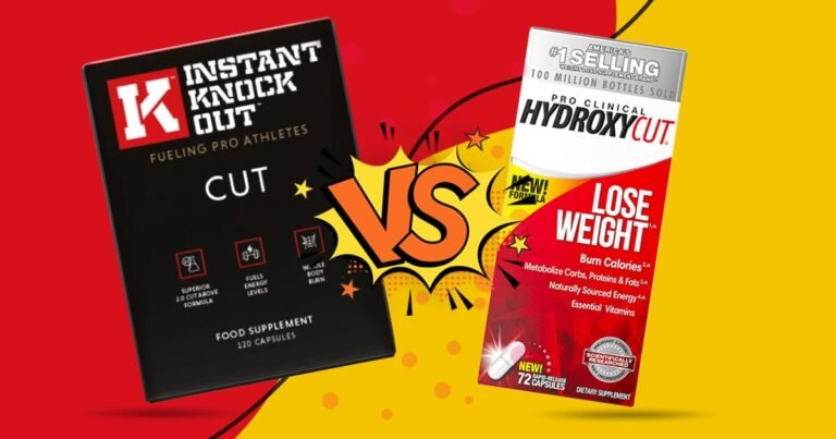 Instant Knockout Vs. Hydroxycut – Which Helps Burn Fat Faster?