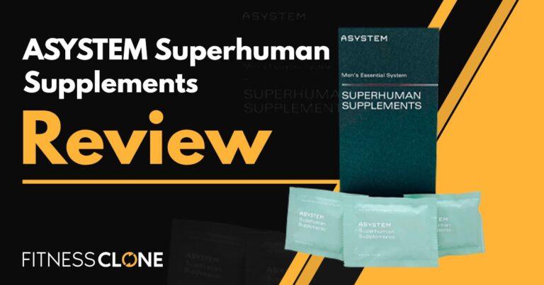 ASYSTEM Superhuman Supplements Review – Is This Men's Health Supplement Legit?
