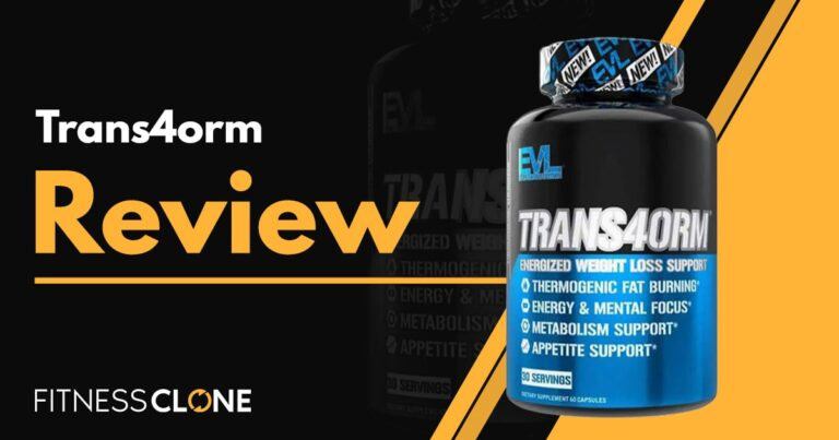 Trans4orm Review – Is This Evlution Weight Loss Supplement Legit?